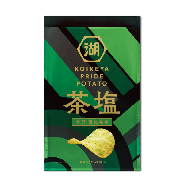KOIKEYA PRIDE POTATO 芳醇 重ね茶塩