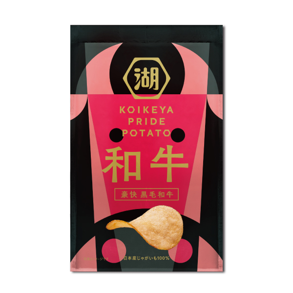 KOIKEYA PRIDE POTATO 豪快 黒毛和牛