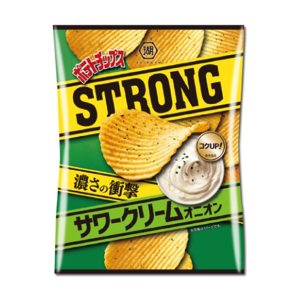 ポテトチップスSTRONG サワークリームオニオン